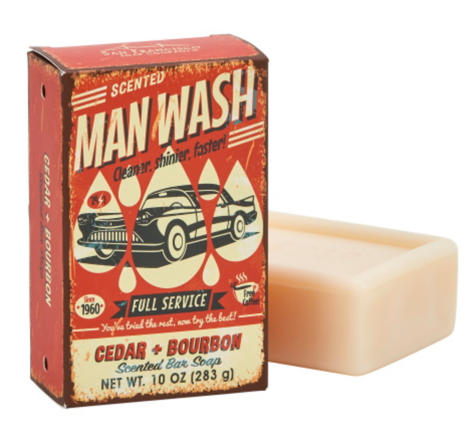 Man Wash Bar Soap