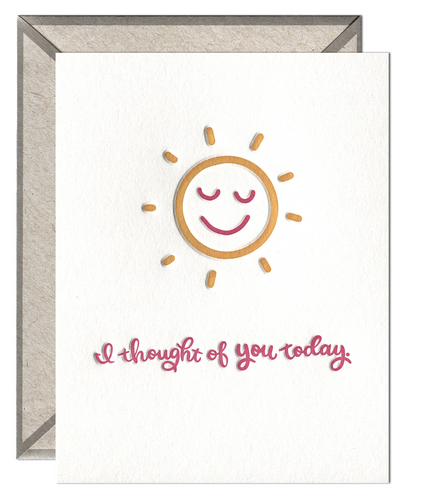 I Thought Of You Today Card