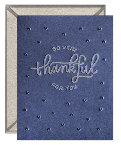 So Very Thankful For You Card