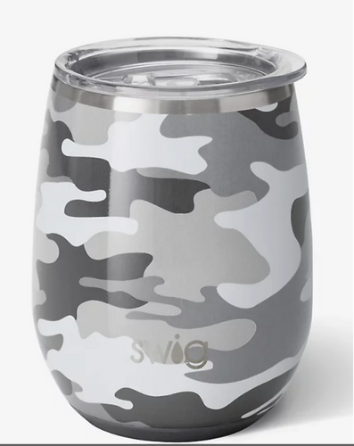 Insulated Stemless Wine Glass