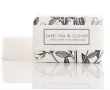Load image into Gallery viewer, Sweet Pea & Clover Bath Bar