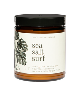 Sea Salt Surf Soy Candle