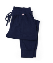 Load image into Gallery viewer, Indoorsy Navy Blue Joggers Large