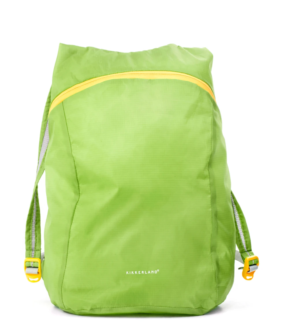 Green Compact Backpack