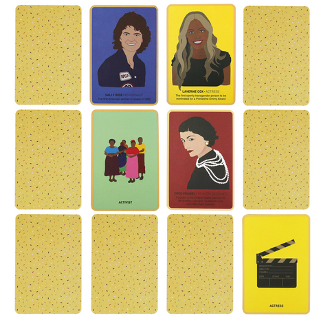 Great Women Memory Game