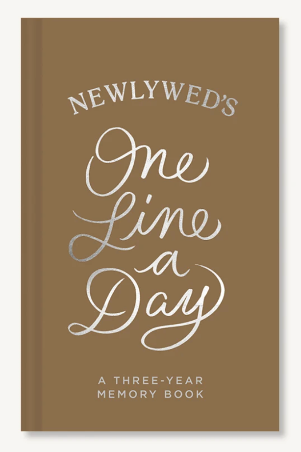 Newlyweds One Line A Day Journal