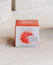 Load image into Gallery viewer, Grapefruit Cottage Greenhouse French Shea Soap