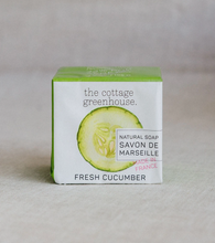 Load image into Gallery viewer, Cottage Greenhouse French Shea Soap Cucu