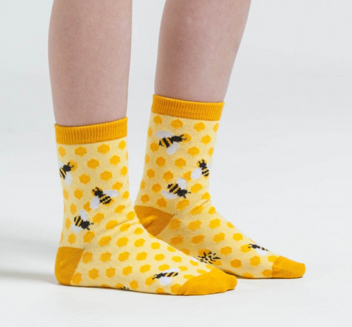 Bee's Knees Women's Crew Socks