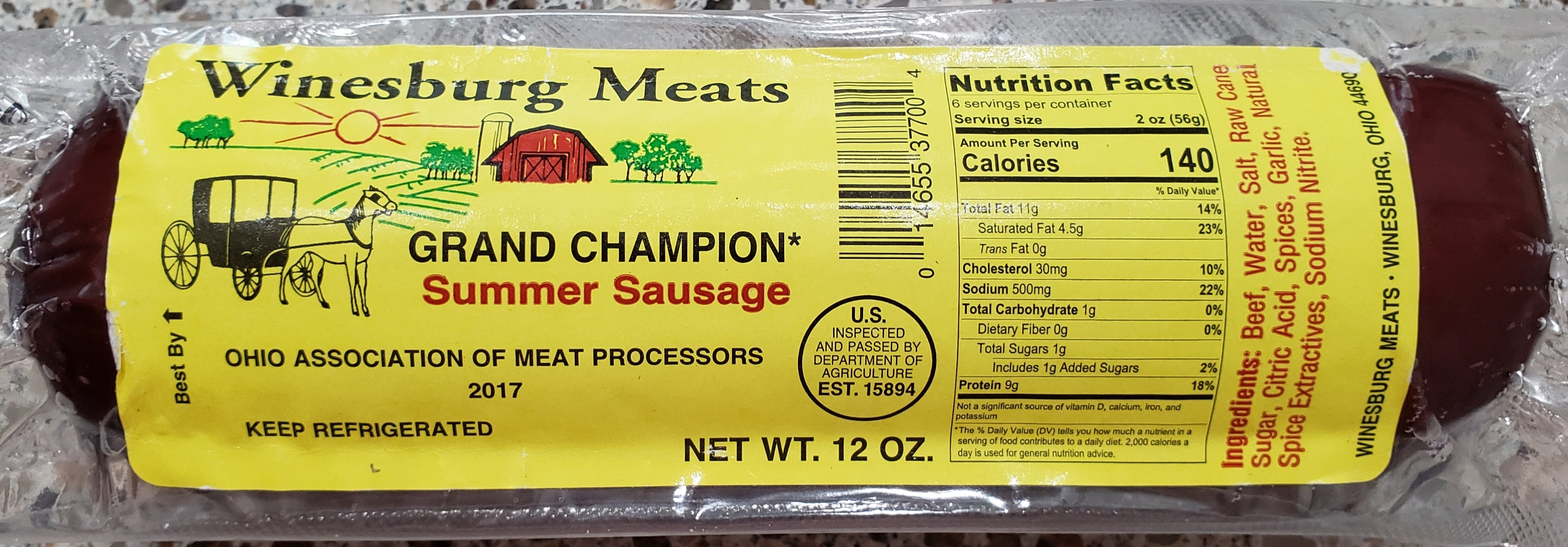 Meats - Summer Sausage
