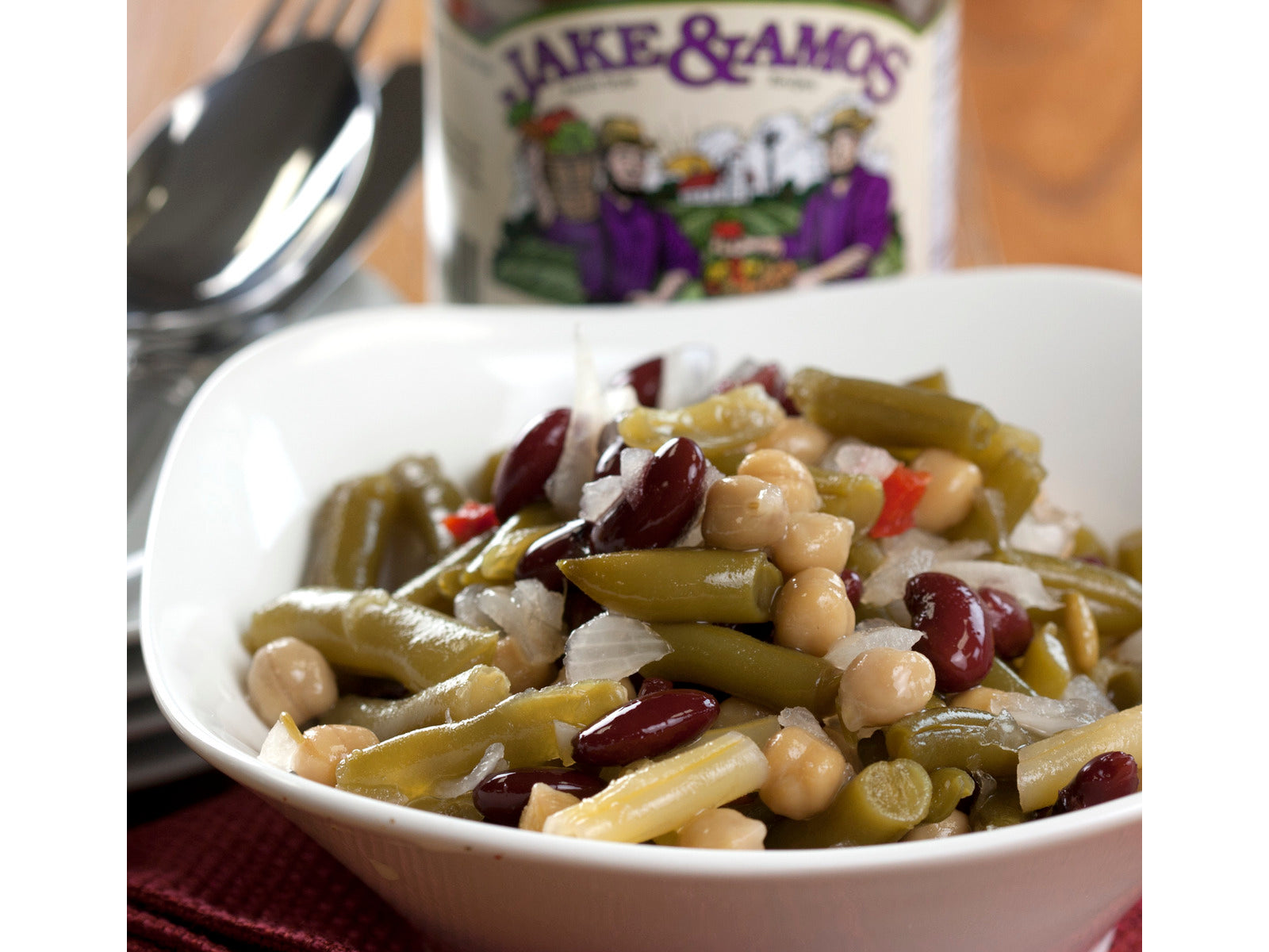 Pickled Four Bean Salad - Jake & Amos