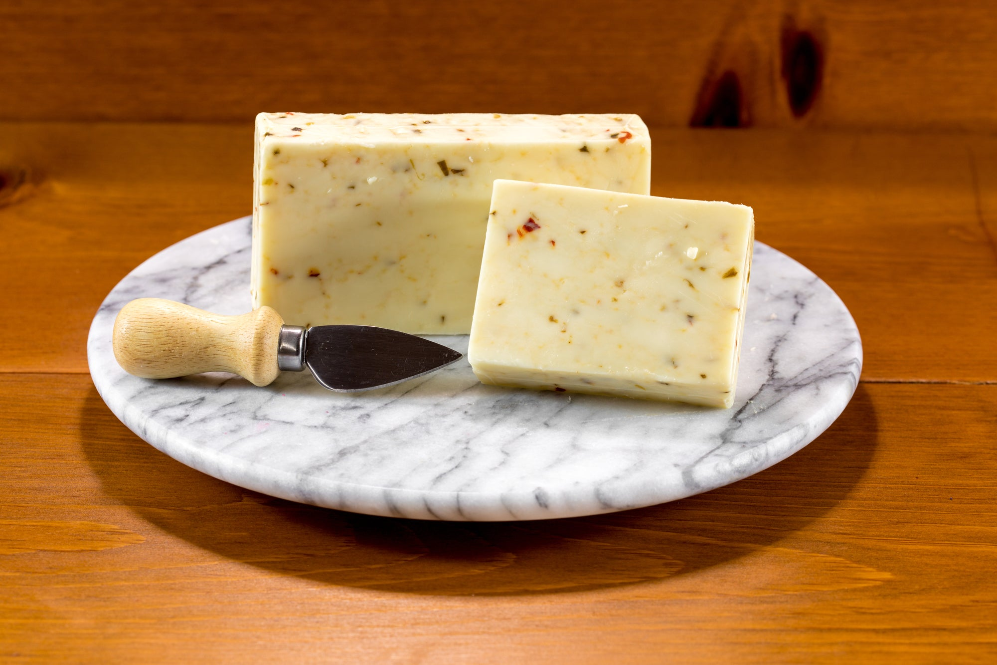 Cheese - Hot Pepper Cheese $2.80 per 1/2 lb.