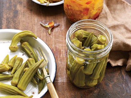 Pickled Okra - Mild - Cannon's Country Gourmet