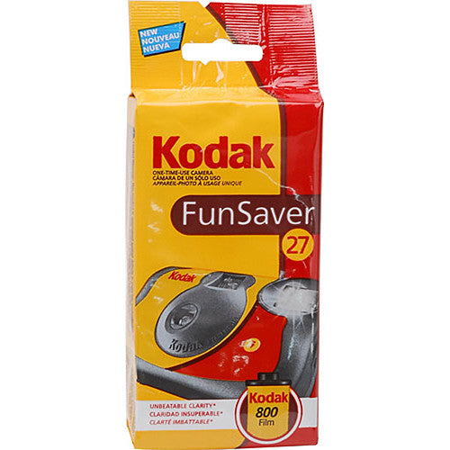 Kodak Funsaver Flash Disposable Camera