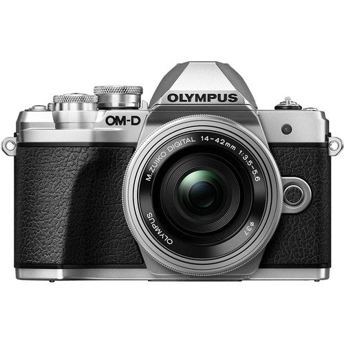 Olympus E-M10 Mark III Mirrorless Camera with 14-42mm EZ Lens [Silver]