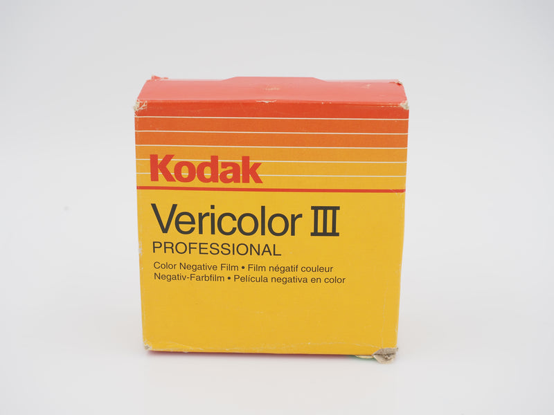 Kodak Vericolor III 100' expired film 1997