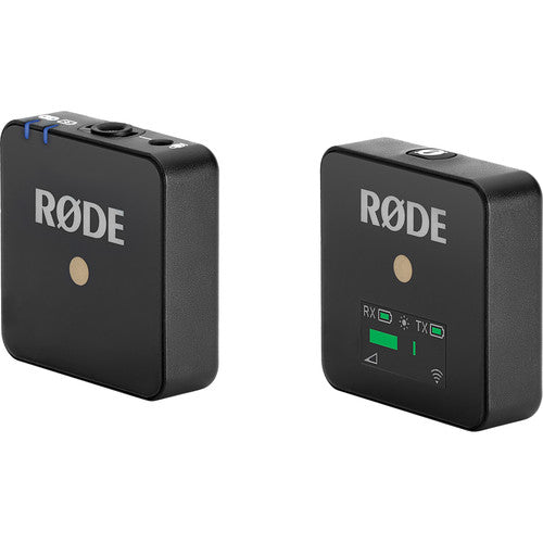 Rode Wireless GO Compact Digital Wireless Microphone System (2.4 GHz, Black)