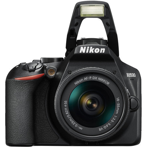 Nikon D3500 DX DSLR Camera with 18-55mm and 70-300mm Lenses