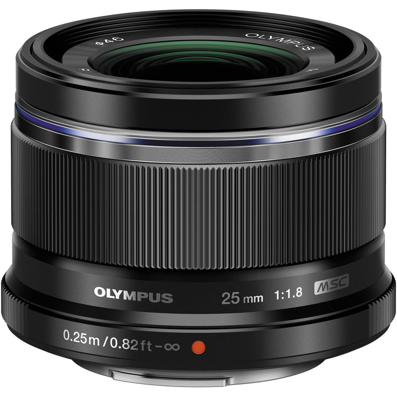 Olympus MFT 25mm F1.8 Lens [Black]
