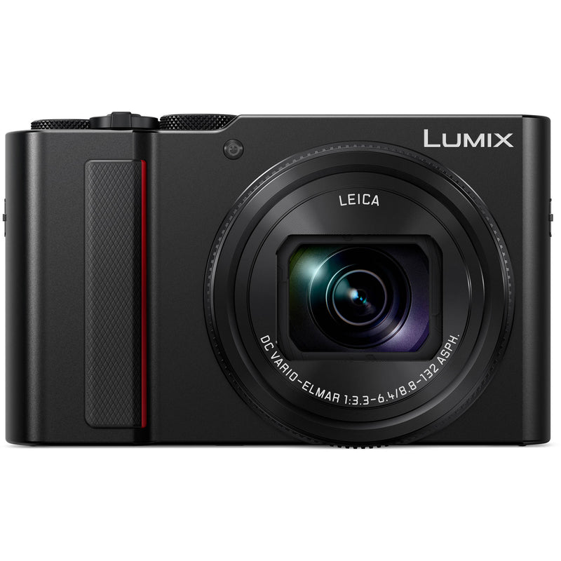 Panasonic Lumix ZS200 Point & Shoot Camera [Black]