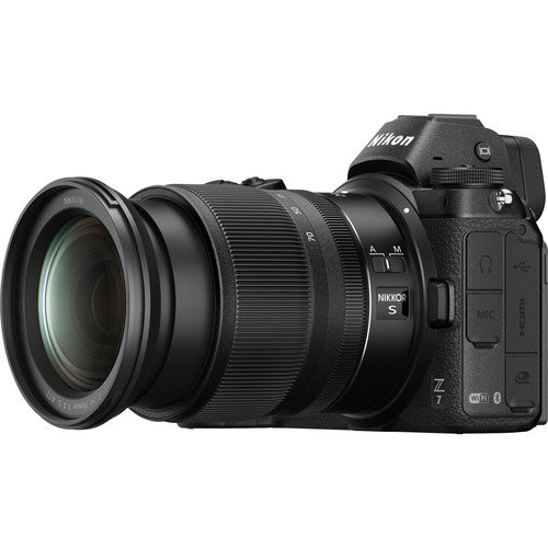 Nikon Z7 FX Mirrorless Camera with 24-70mm F4 S Lens