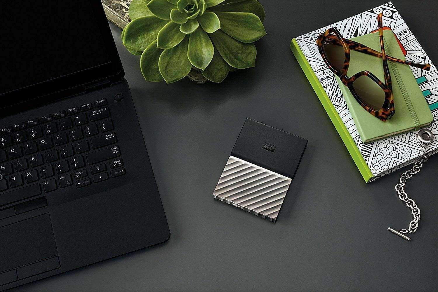 "WD 2TB 2.5"" My Passport Ultra Portable Metal External Hard Drive USB3 Black-Gray - A1smartshop"
