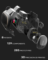 Wearbuds™ | Aipower Wearbuds True Wireless Earbuds Fitness Tracker 2 in 1 with Bluetooth5.0 - A1smartshop