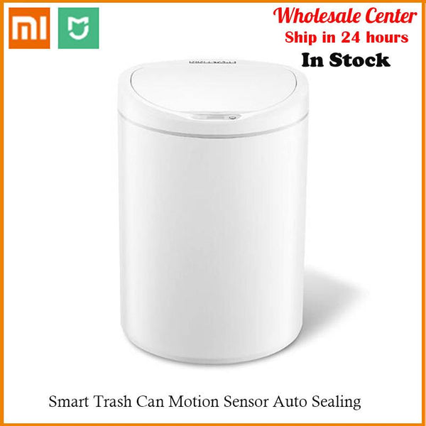 Xiaomi Mijia  Smart Trash Can Motion Sensor Auto Sealing - A1smartshop