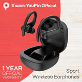YouPin QCY T6 TWS Sport Earphone Bluetooth 5.0 Wireless App Control ACC SBC Light IPX4 Waterproof DSP Earbuds Noice Reduction - A1smartshop