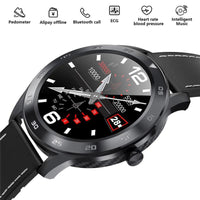 ECG DT98 Mens Fitness Tracker Smart Watch Heart Rate Blood Pressure IOS Android - A1smartshop