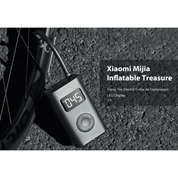 Xiaomi Mini Portable Inflatable Treasure Compressor Tire 2000mAh - A1smartshop
