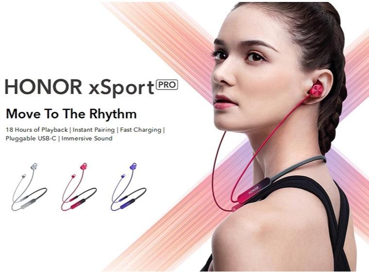 Original HUAWEI Honor xSport Pro AM66 Bluetooth Wireless Earphone - A1smartshop