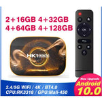 HK1 RBOX R1 Android 10.0 Smart TV Box 4K WIFI RK3318 4GB 1080P Media Player - A1smartshop