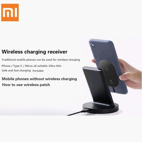Xiaomi Vertical Wireless Charger 20W Max with Flash Charging Qi Compatible for Xiaomi Smartphone - A1smartshop