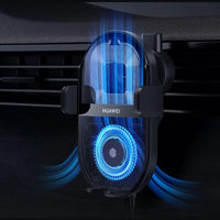 New Huawei SCP SuperCharge Wireless Car Charger 50W Max Intelligent Both Side Sensor Mounting Retrieve Phone 3D Air Cooling - A1smartshop