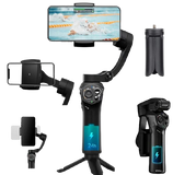 Snoppa Atom Foldable Pocket Sized 3 axis Smartphone Handheld Gimbal Stabilizer - A1smartshop