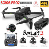 SG906 PRO 2 RC Drone 3-Axis Gimbal Professional WIFI Dual Camera RC Drone