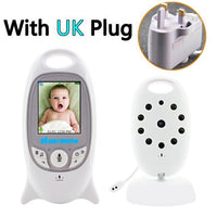 Wireless  Video Color Baby Monitor  Night Vision Baby Security Camera V601 Temperature Baby Eletronica - A1smartshop