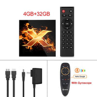 2020 Android 10 TV BOX Android 10.0 MAX 6K TVBOX 2.4G&5G wifi TV Box - A1smartshop