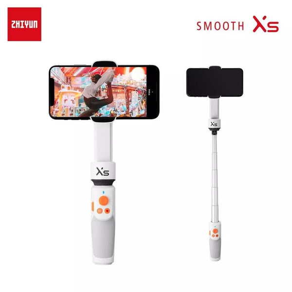 ZHIYUN Official SMOOTH XS Phone Gimbals Selfie Stick Handheld Stabilizer - A1smartshop