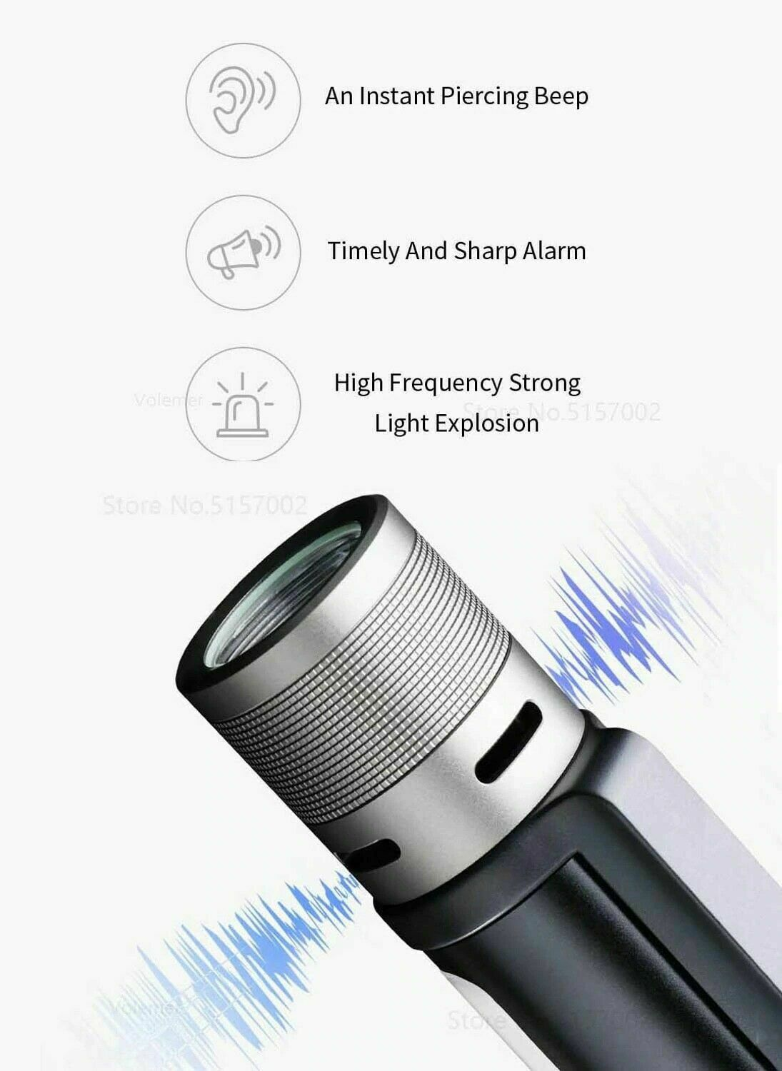 New Youpin NexTool Outdoor 6 in 1 LED Flashlight Ultra Bright Torch Waterproof - A1smartshop