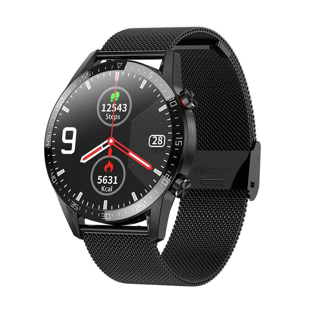 L13 SmartWatch Men ECG+PPG Waterproof Bluetooth Call Blood Pressure Fashion Wristbands Fitness Smart Watch - A1smartshop