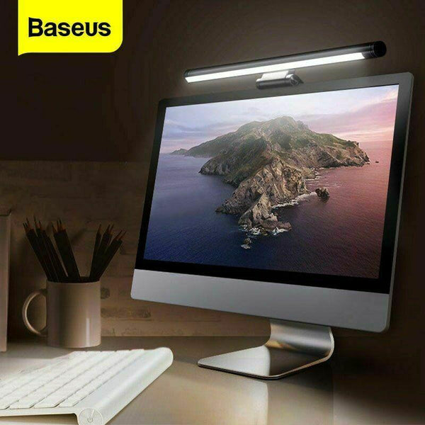 Baseus USB LED Desk Lamp E-Reading Screen Light Hanging Computer Dimmable Strip - A1smartshop