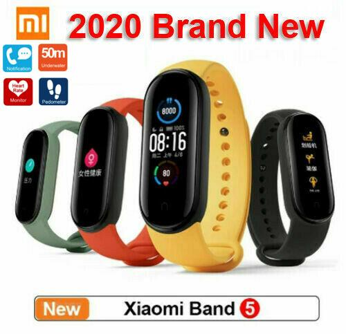 2020 NEW Xiaomi Mi Band 5 Touch Screen Fitness Tracker Smartwatches - A1smartshop