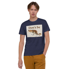 Load image into Gallery viewer, Don't Be A Fish Organic Poker T-Shirt