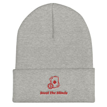 Load image into Gallery viewer, Steal The Blinds Poker Beanie