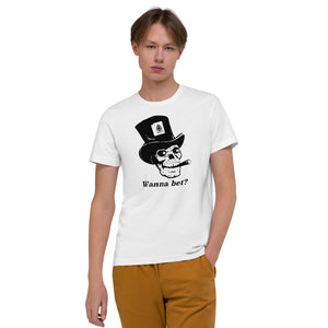 Wanna Bet Organic Poker T-Shirt