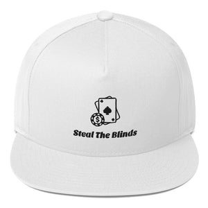 Steal The Blinds Flat Bill Cap