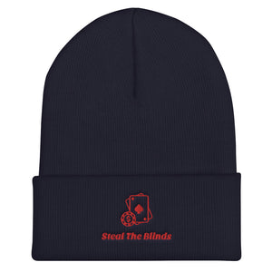 Steal The Blinds Poker Beanie