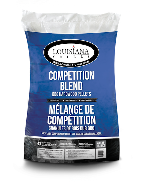 Louisiana Grill Pellet 18 kg Competition Blend